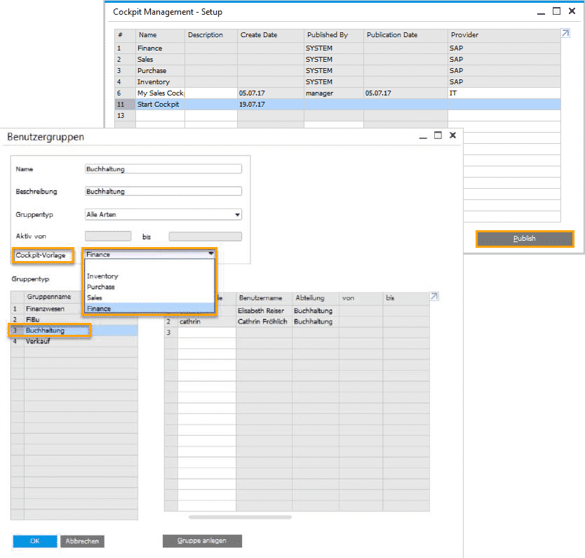 SAP Business One Version 9.3 - Business Intelligence - Cockpit Templates II
