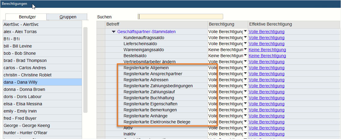 SAP-Business-One-Version-10.0-Administration-Berechtigungen-setzen-für-Registerkarten